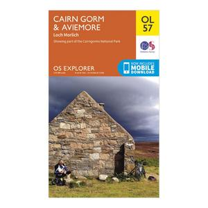 ORDNANCE SURVEY Explorer OL 57 Cairn Gorm & Aviemore Map