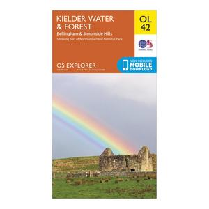 ORDNANCE SURVEY Explorer OL 42 Kielder Water & Forest Map