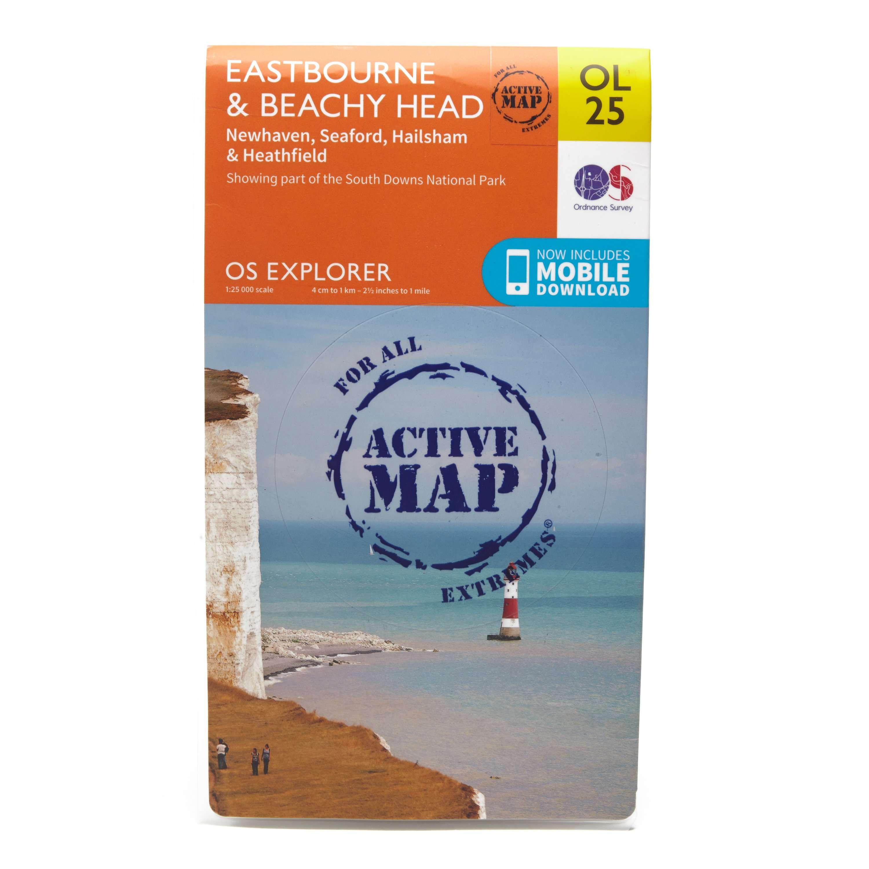 ORDNANCE SURVEY Explorer Active OL 25 Eastbourne & Beachy Head Map