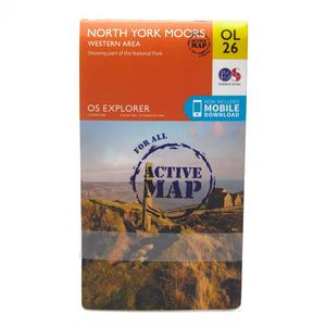 ORDNANCE SURVEY Explorer Active OL26 North York Moors - Western Area Map