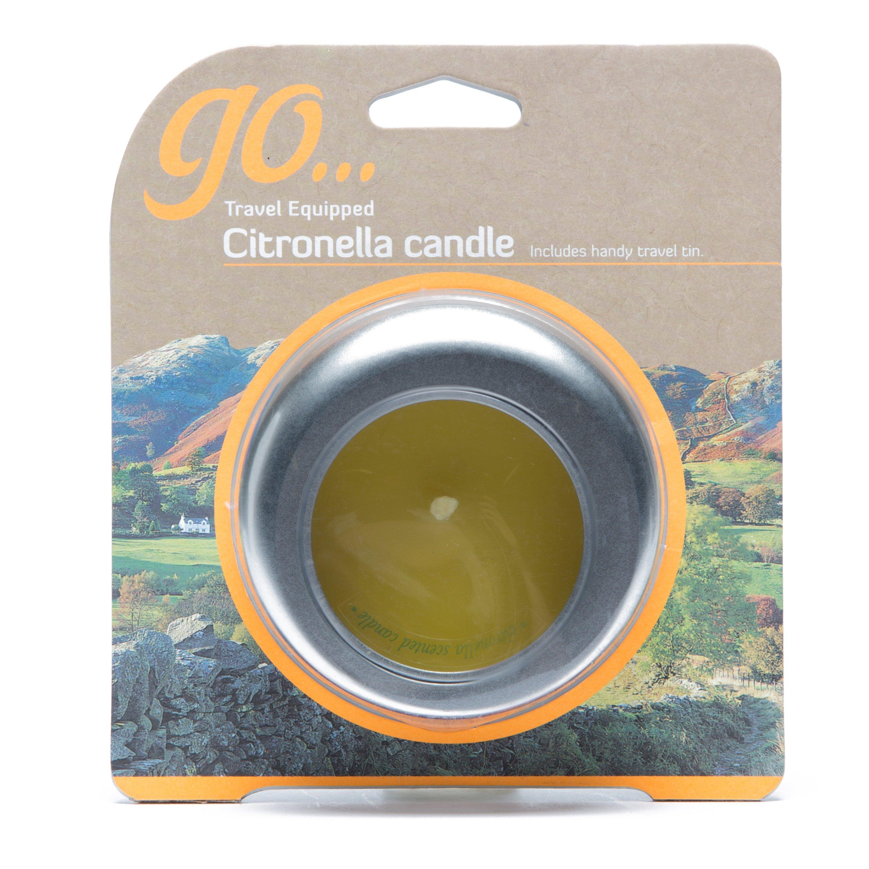 Design Citronella Candle, Silver