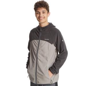CRAGHOPPERS Boy's Ionic II Full Zip Hooded Fleece