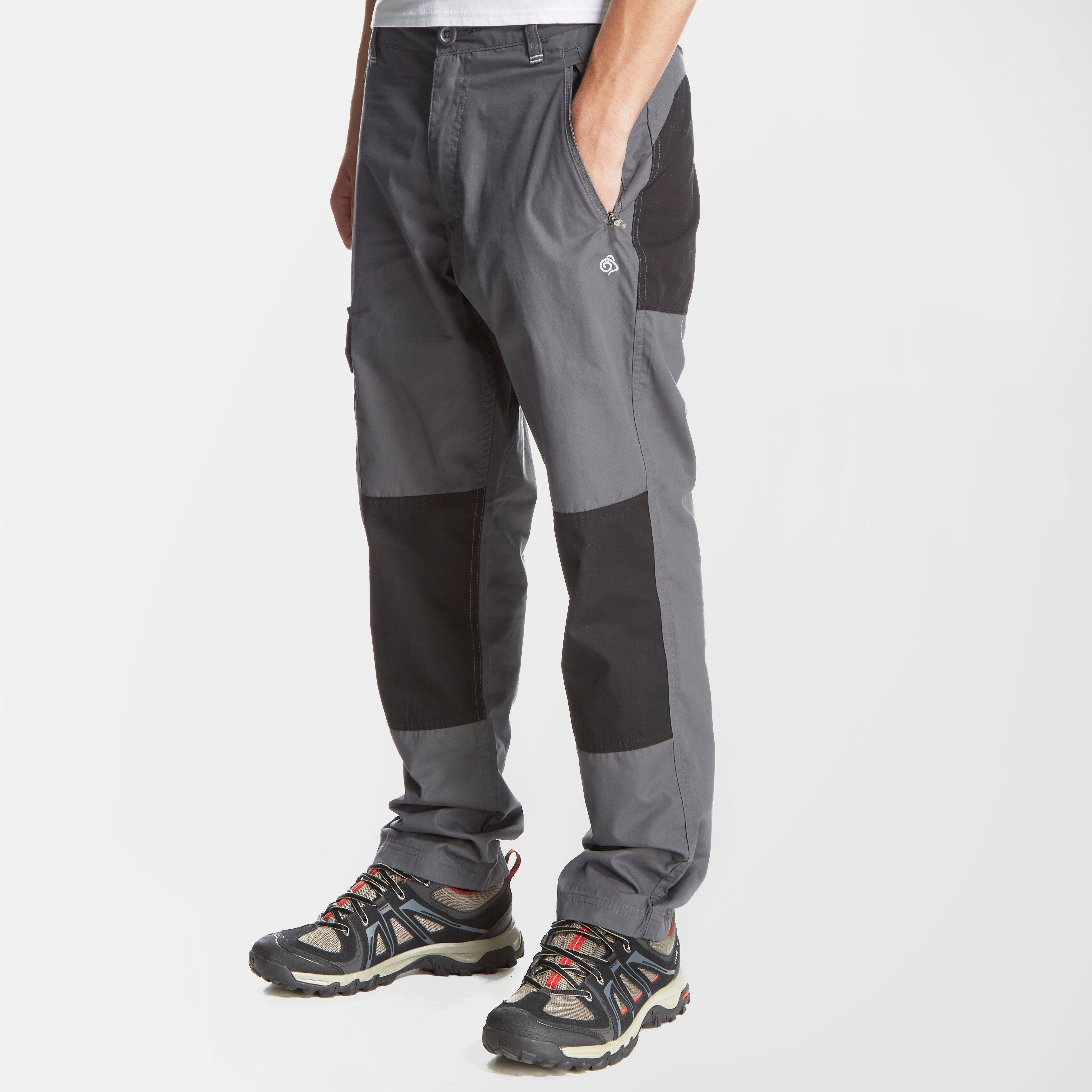 Craghoppers Boys Traverse Trousers Grey