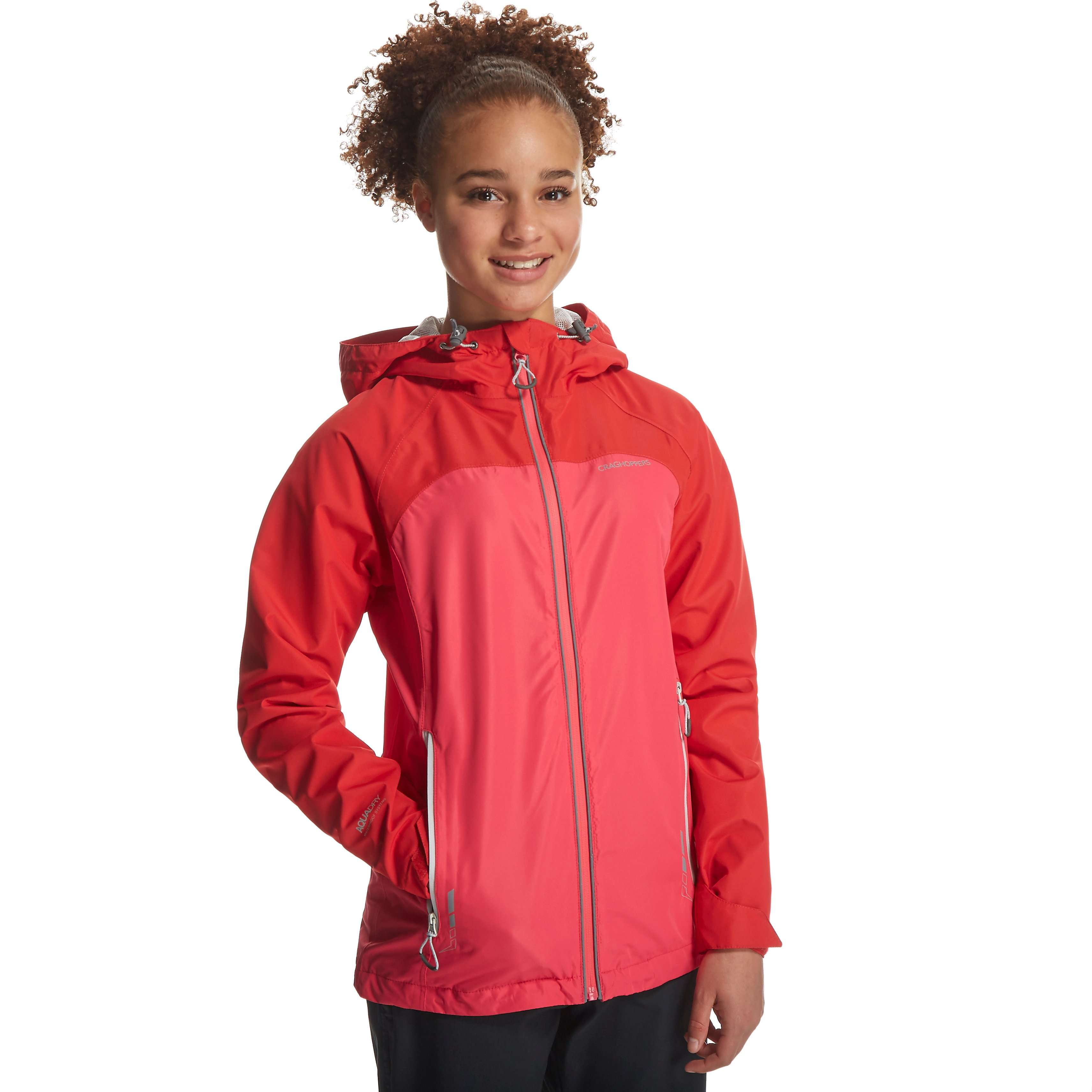 CRAGHOPPERS Girl's Reaction Lite II Jacket