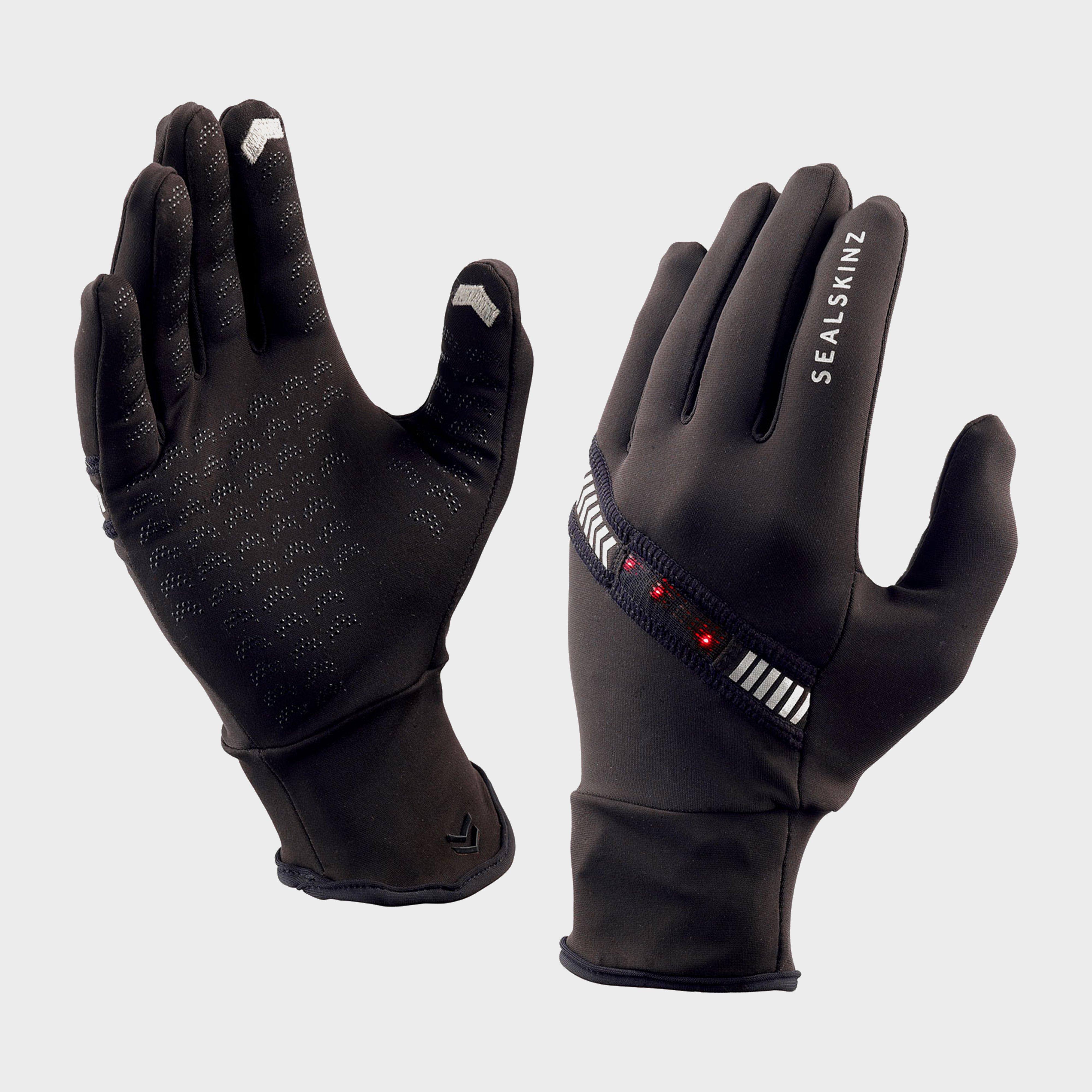 Sealskinz HALO Running Glove - Black, Black
