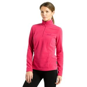 JACK WOLFSKIN Women's Gecko Half-Zip Fleece