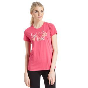 JACK WOLFSKIN Women's Brand T-Shirt