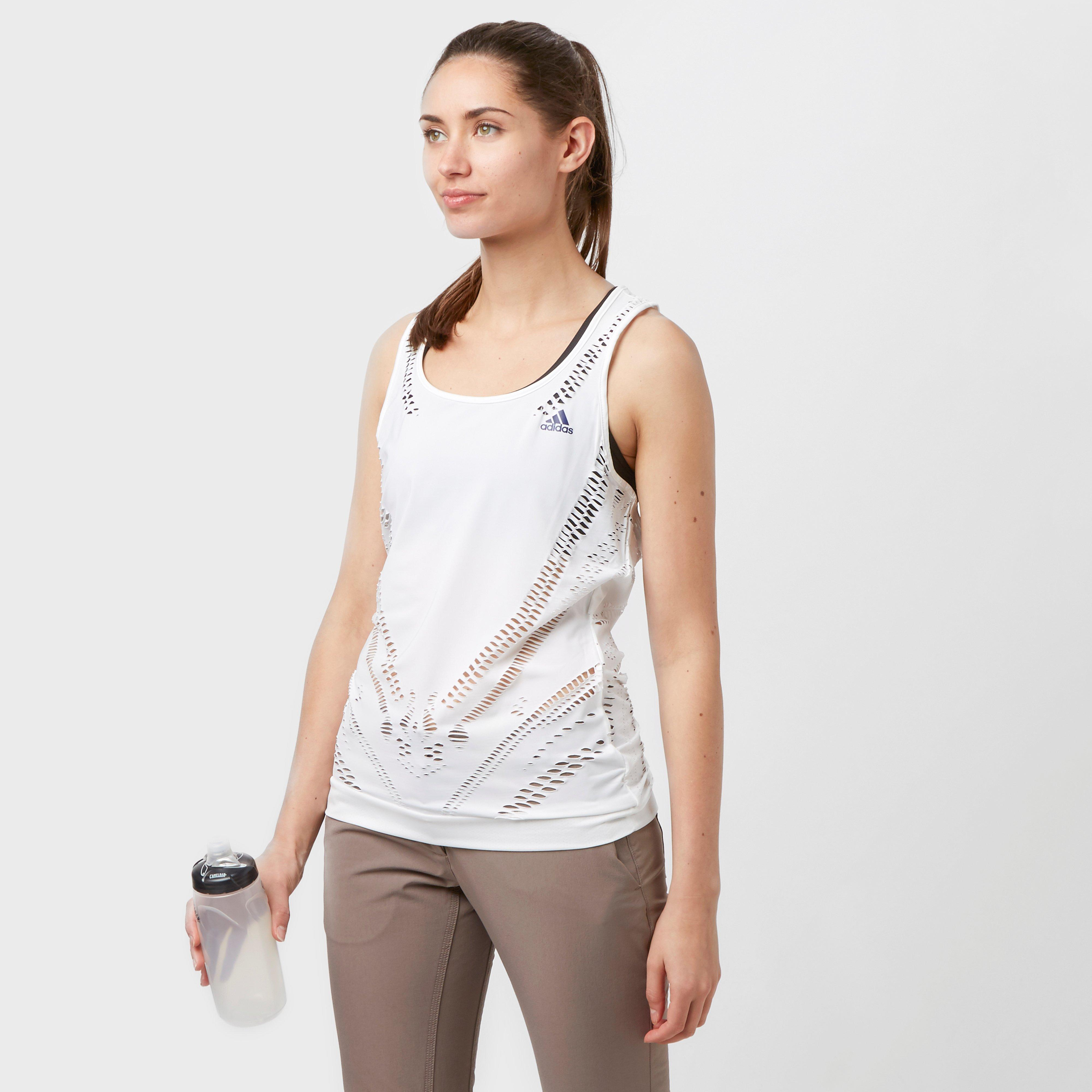 Adidas Womens Climacool Tank Top White