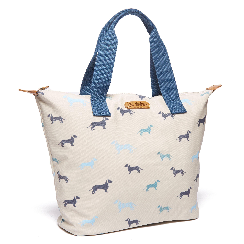 Brakeburn Women's Large Shopper Bag, White