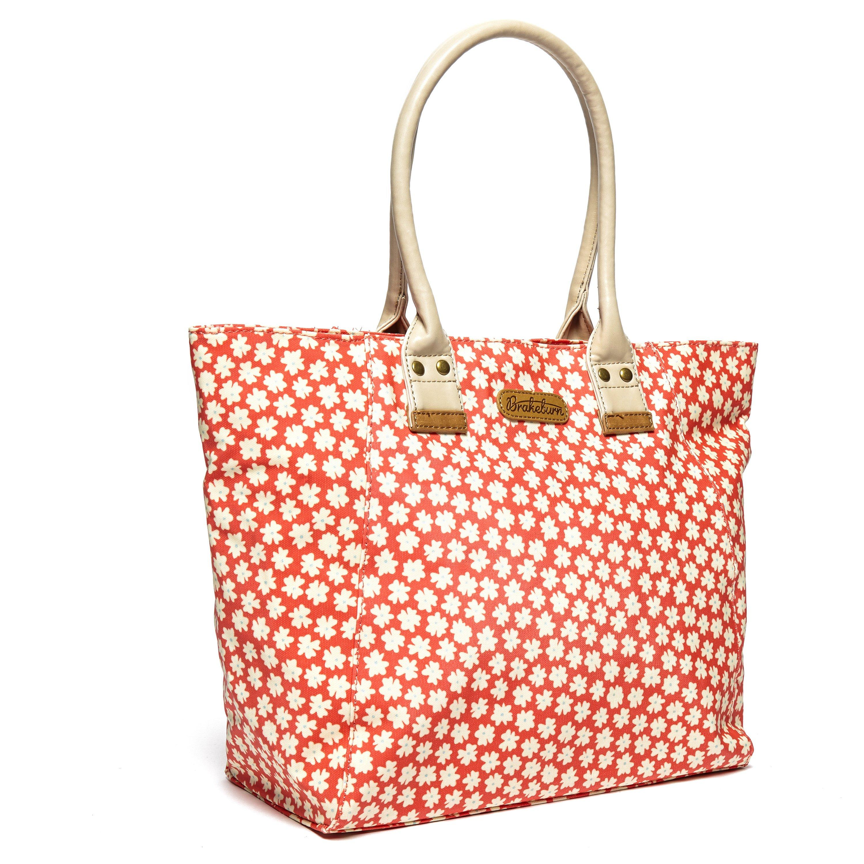 Brakeburn Womens Delicate Daisy Handbag Orange