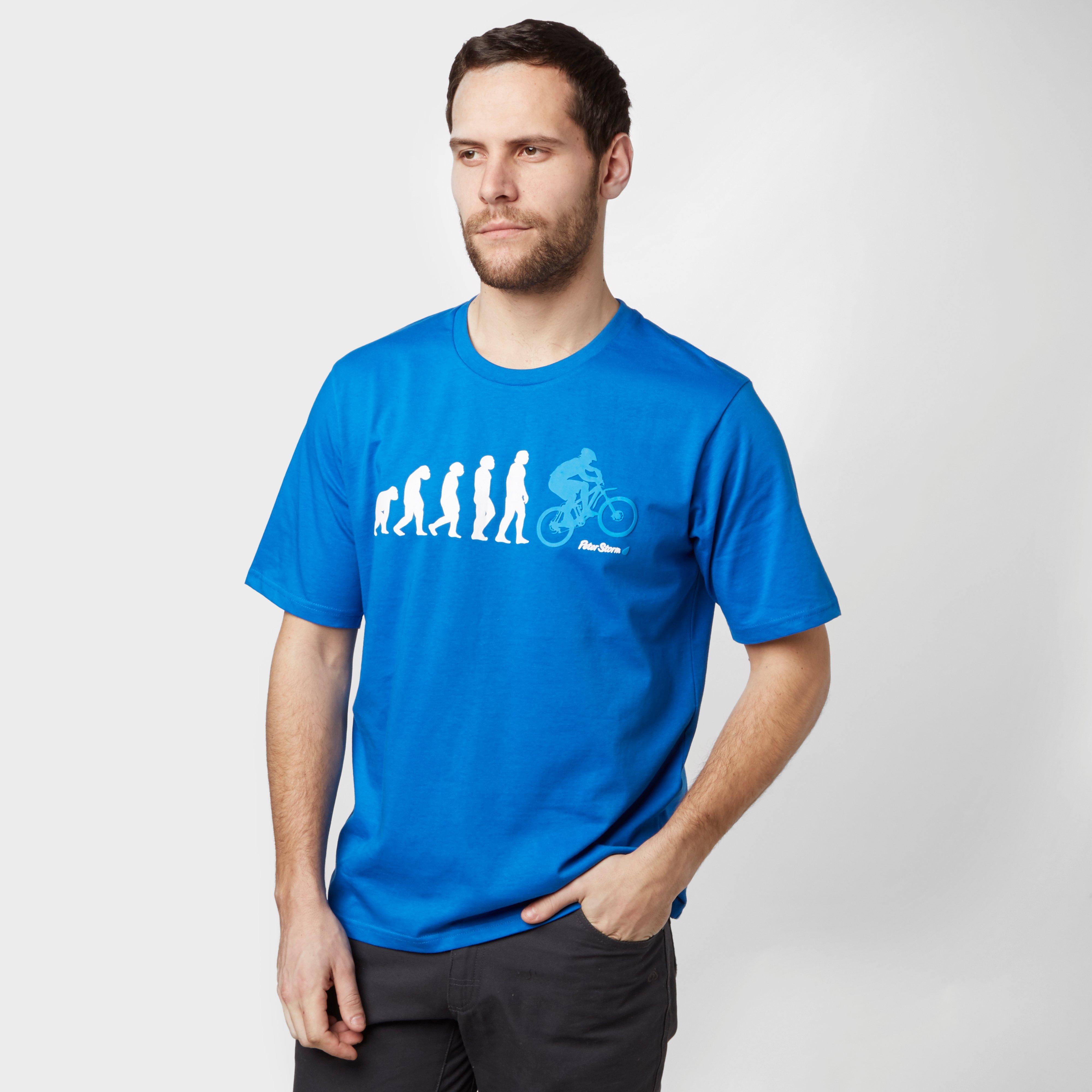Peter Storm Men's Evolution T-Shirt, Blue