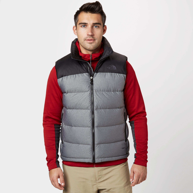 The North Face Mens Nuptse Vest Grey
