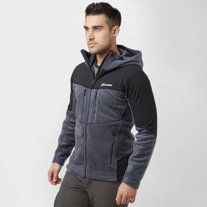 BERGHAUS Men's Activity Guide Hooded Fleece Jacket