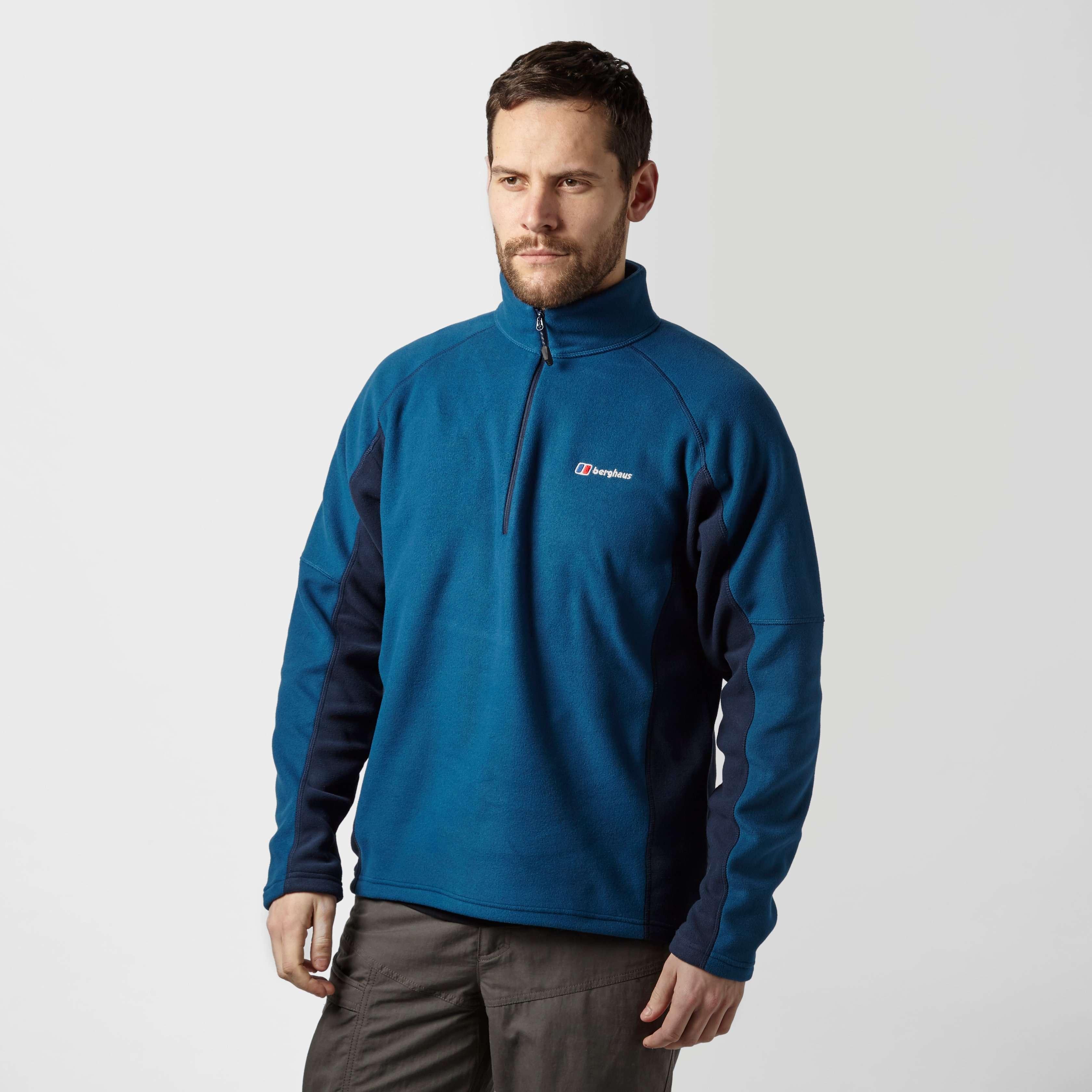 BERGHAUS Men's Hartsop Half-Zip Micro Fleece