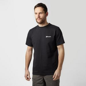 BERGHAUS Men's Back Block Logo Tee