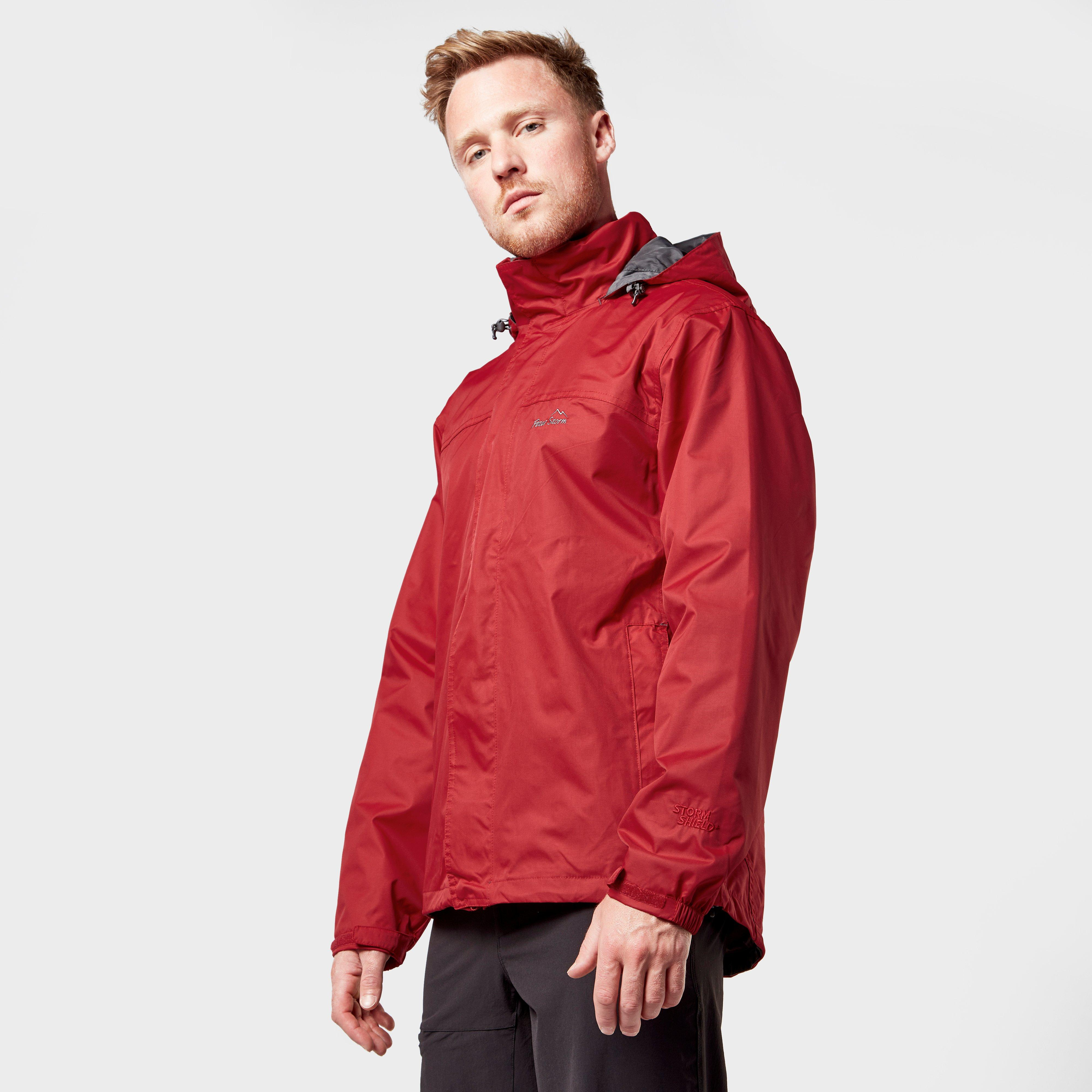 Peter Storm Men's Storm Jacket, Red