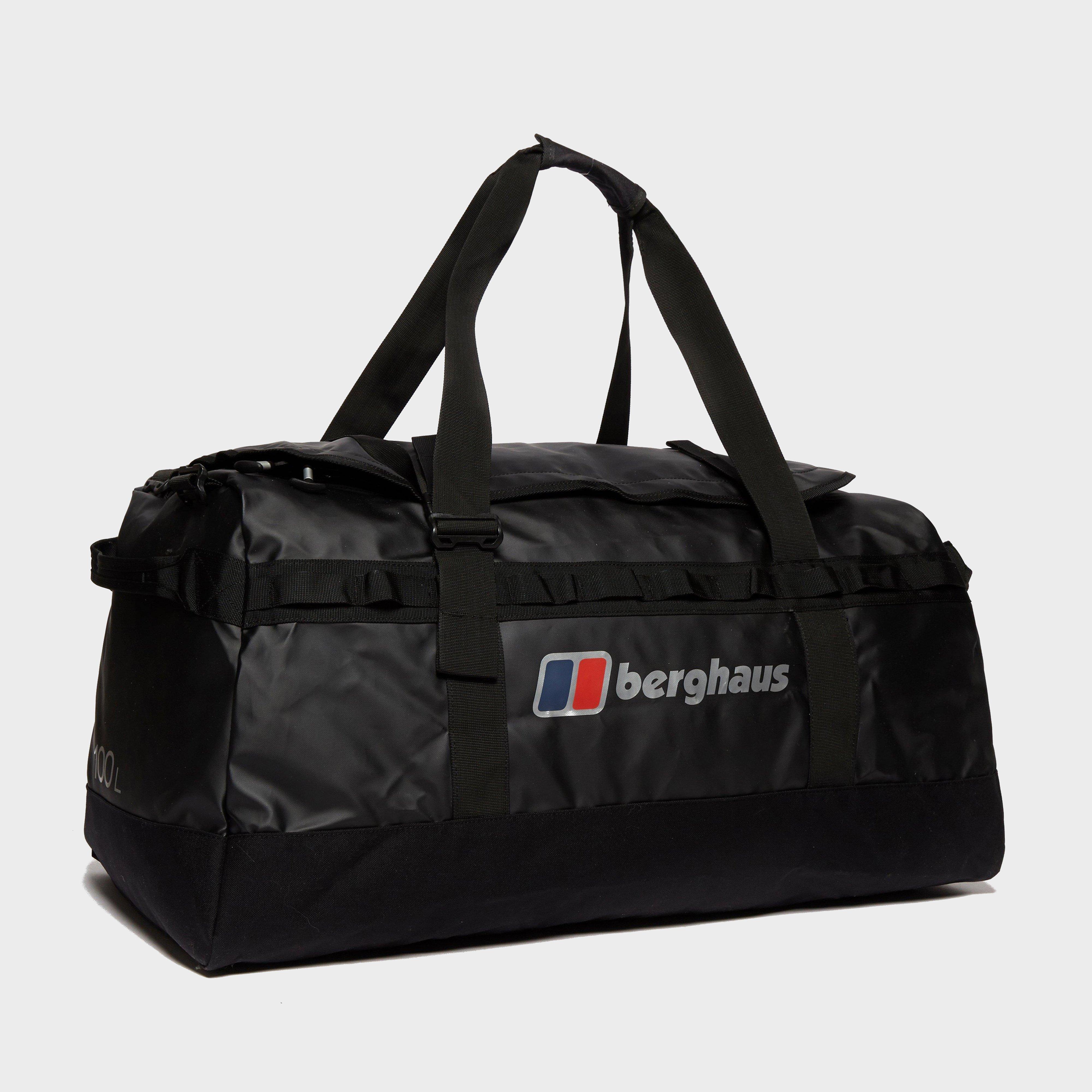 Berghaus Global 100l Holdall - Black  Black