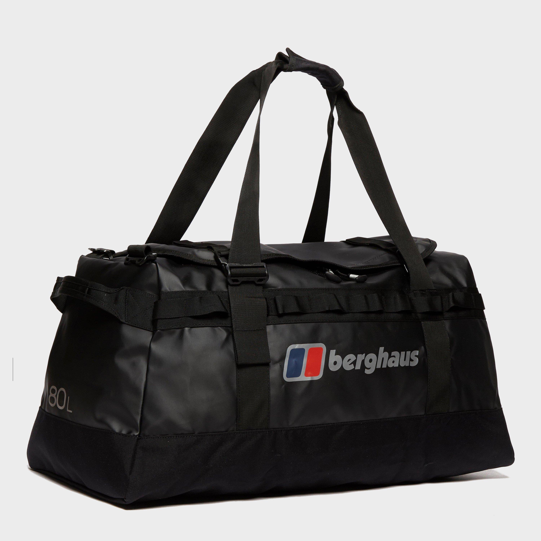 Berghaus Global 80l Holdall - Black  Black