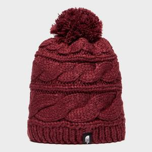 THE NORTH FACE Women's Tri Cable Pom Beanie