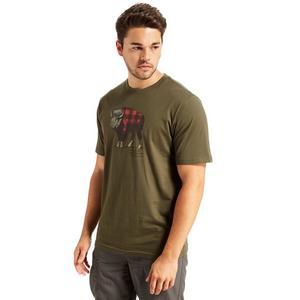 COLUMBIA Men's 'Check the Buffalo' T-Shirt