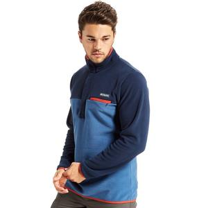 COLUMBIA Men's Mountain Side Pull Over Fleece