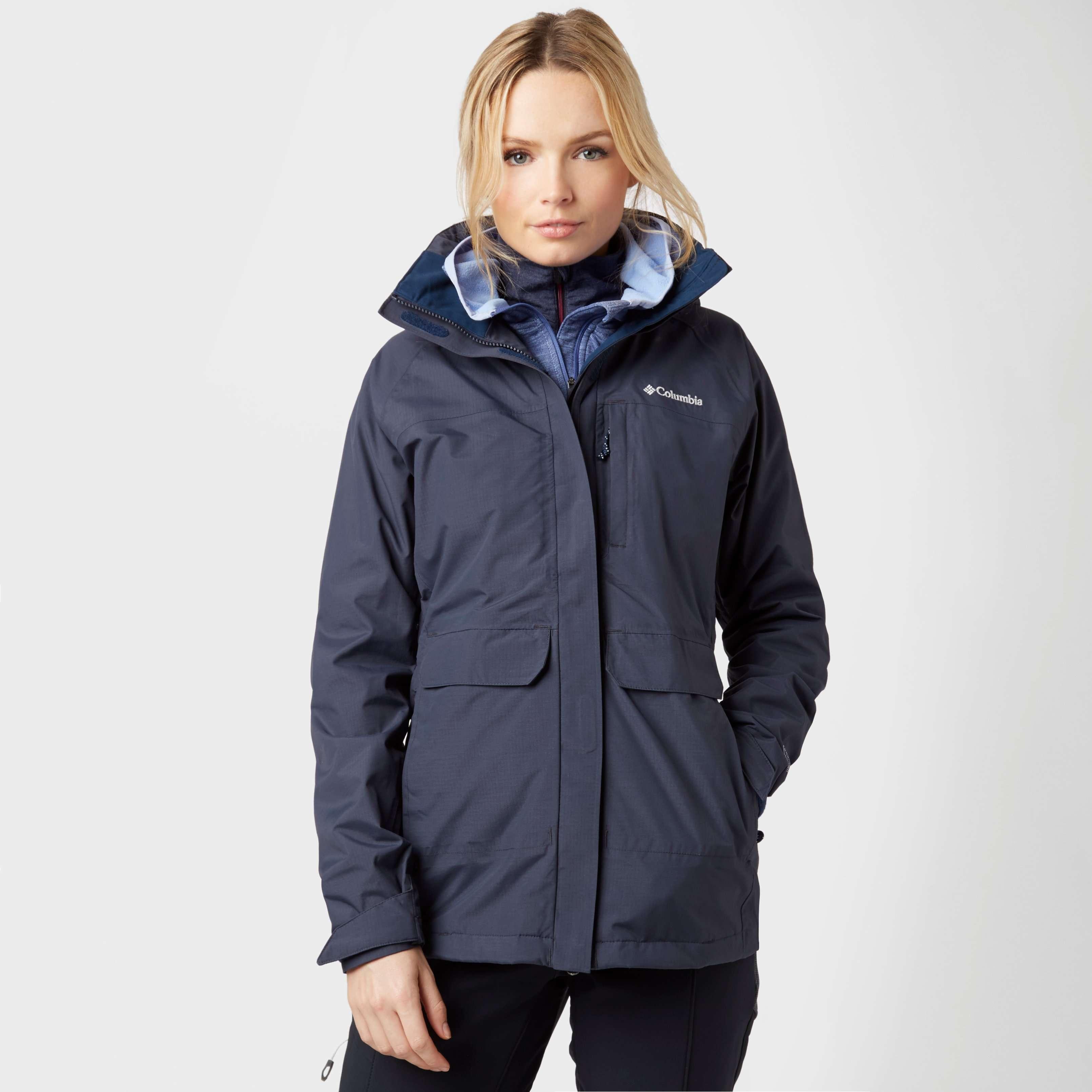 COLUMBIA Women's Longer Miles Waterproof Jacket