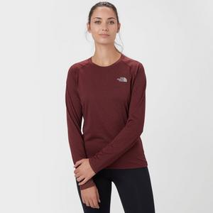THE NORTH FACE Women's Reaxion Long Sleeve Crew T-Shirt