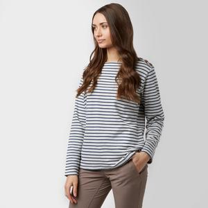 BRAKEBURN Women's Bella Crew Long Sleeve T-Shirt