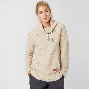 WEIRD FISH Women's Roskilde Funnel Neck Knitted Fleece