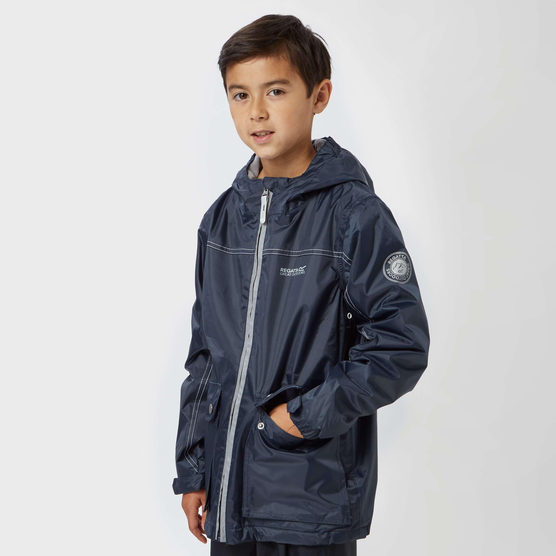 REGATTA Boy's Malham Waterproof Jacket