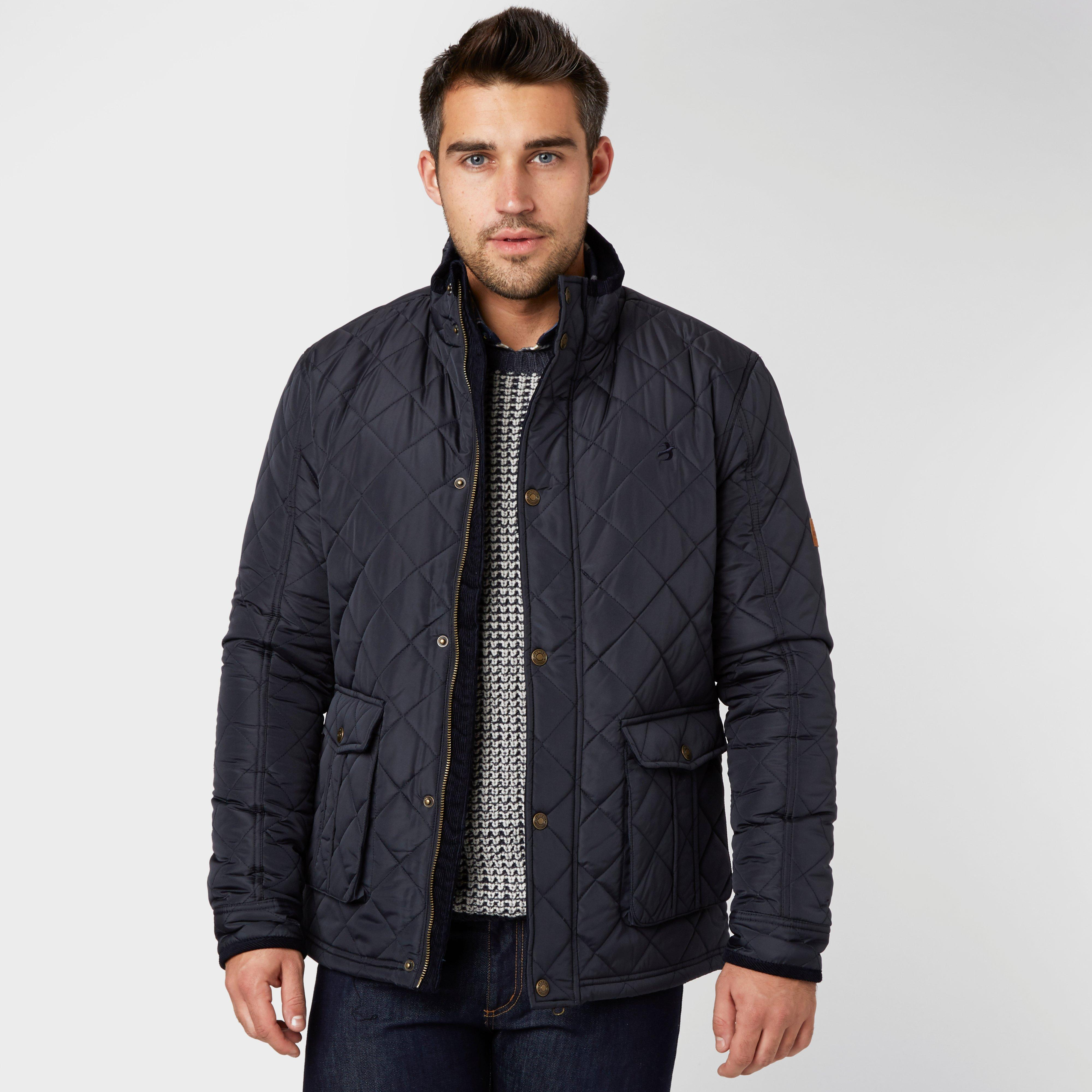 Brakeburn Men's Quilted Jacket, Navy | Bear Grylls UK | £37.50