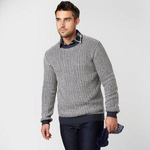 BRAKEBURN Men's Knitted Crew Jumper