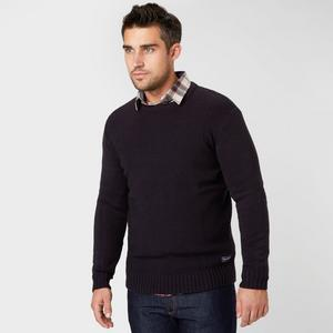 BRAKEBURN Men's Basket Weave Knit Jumper
