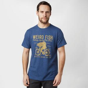 WEIRD FISH Men's Fish Cycle T-Shirt