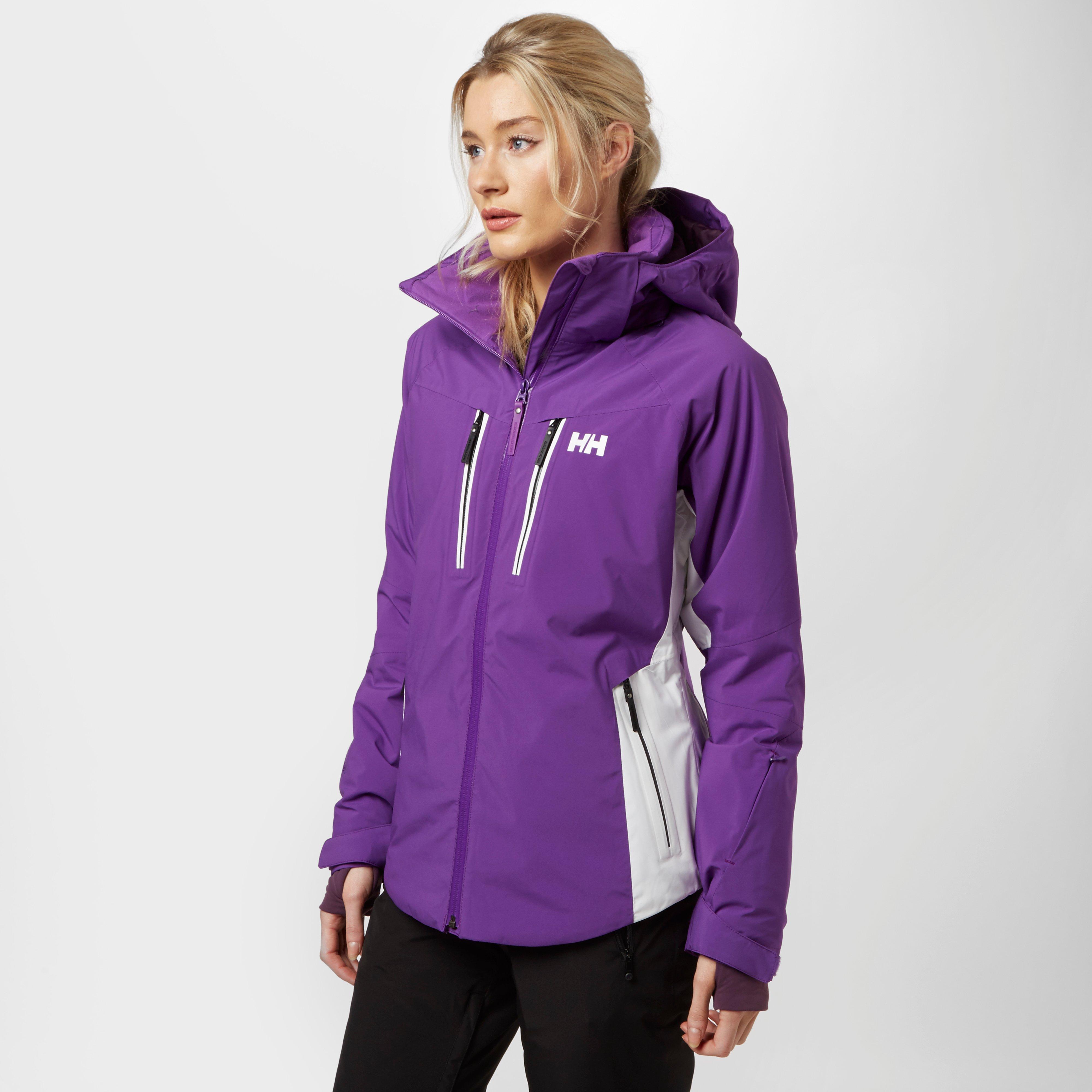 Helly Hansen Womens Motion Stretch Ski Jacket Purple