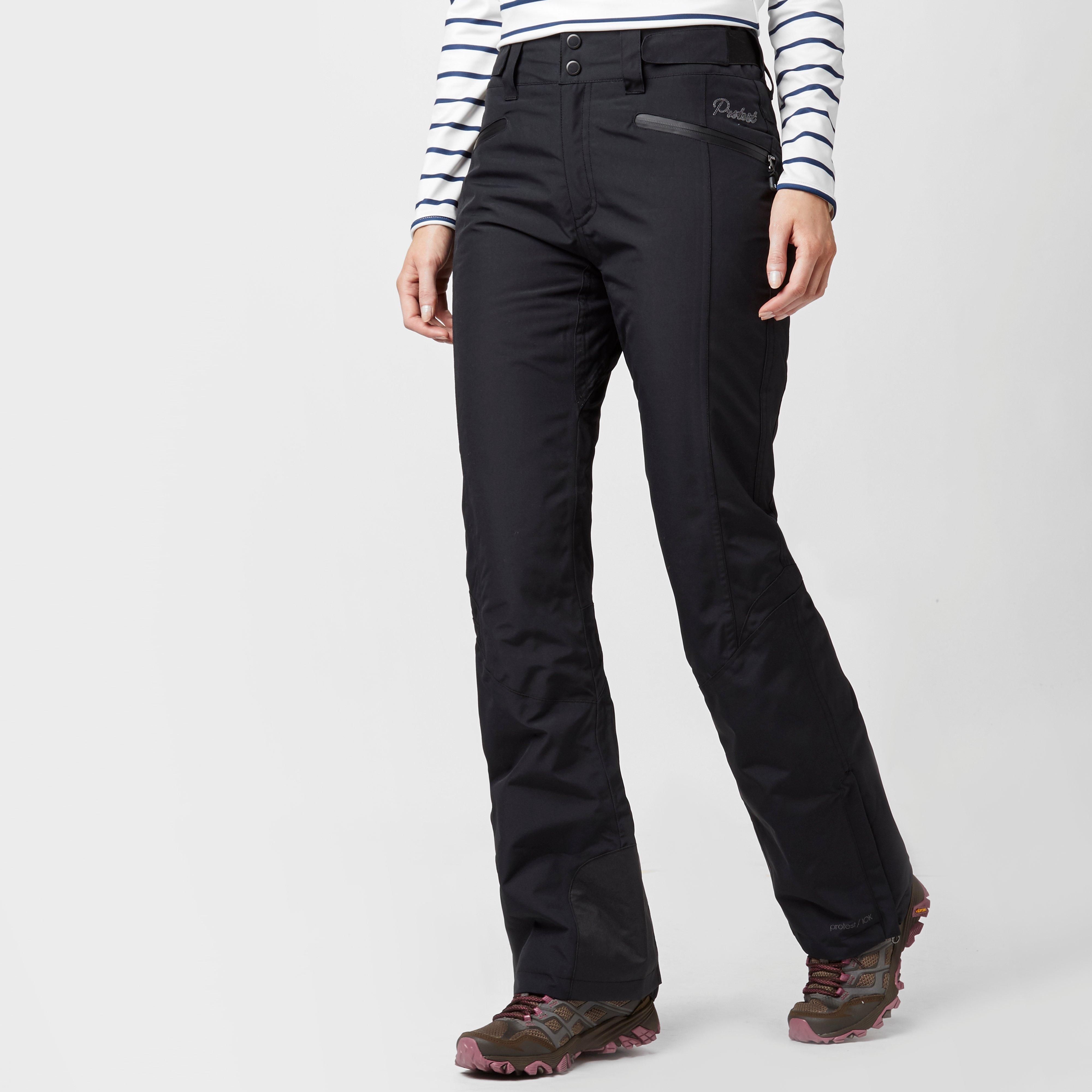 Protest Women's Kensington Ski Pants, Black