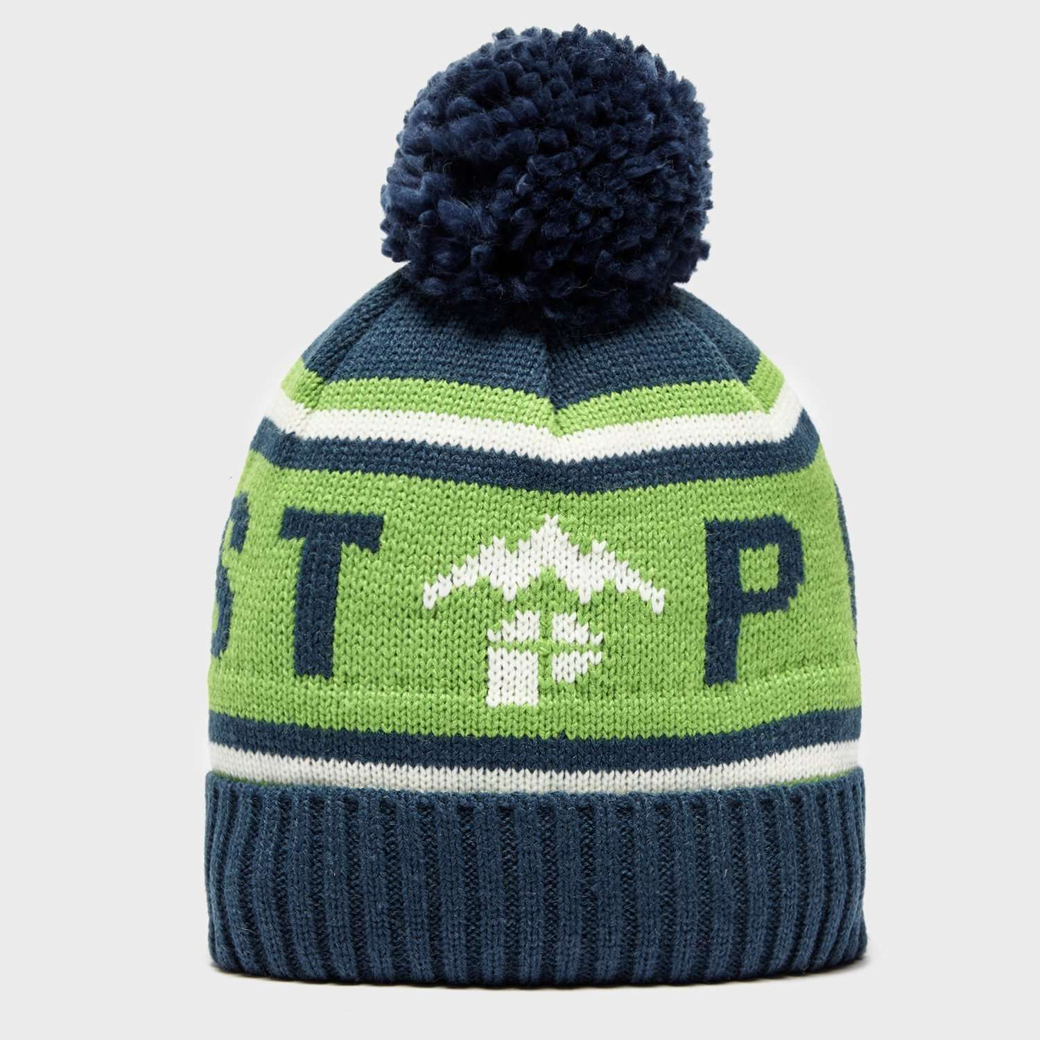 PROTEST Quote Bobble Beanie