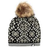 Women's Carrie Jacquard Bobble Hat