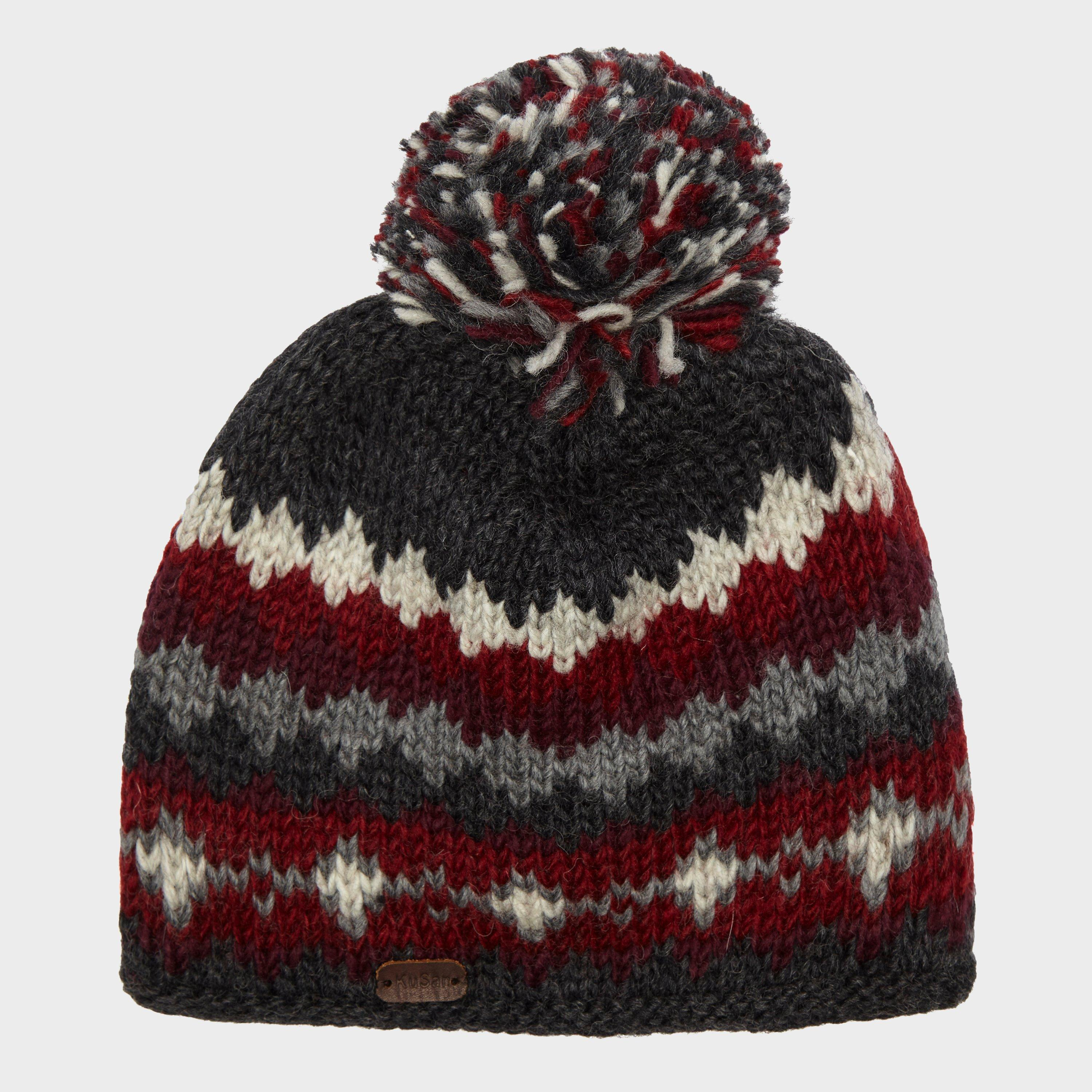 Kusan Mens Bobble Hat Grey