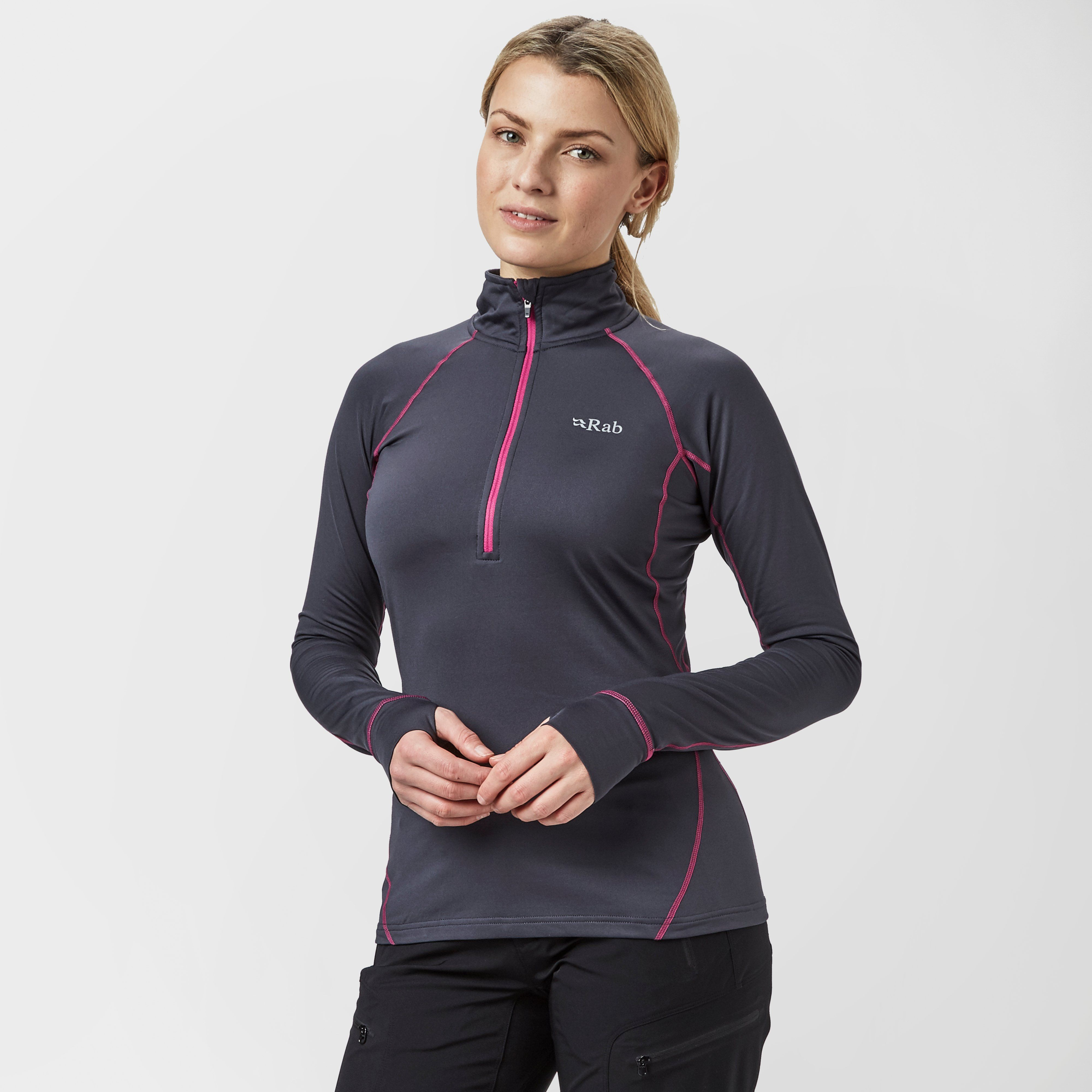RAB Women's Flux Pull-On Half Zip Baselayer