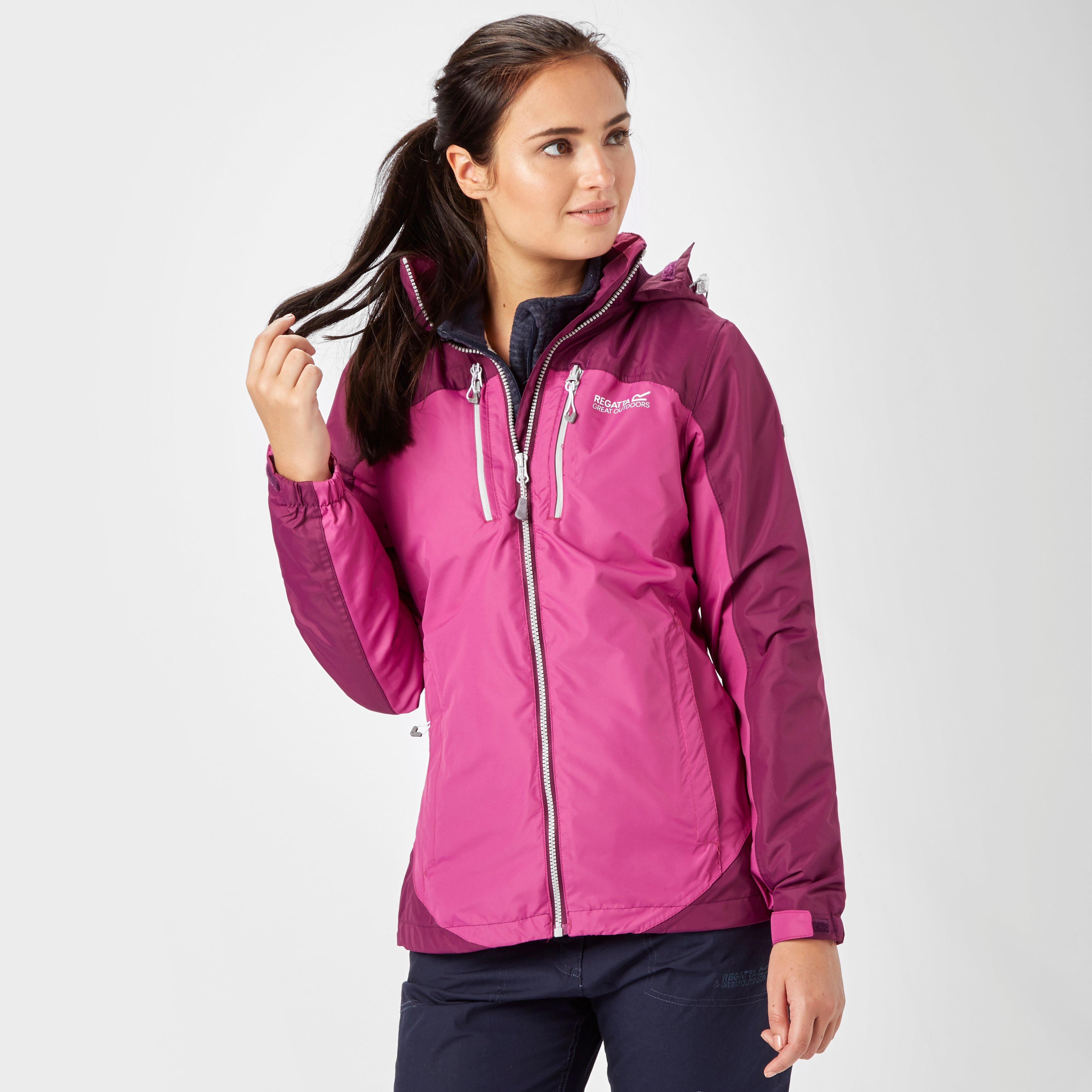 Regatta Womens Calderdale II Waterproof Jacket  Purple Purple