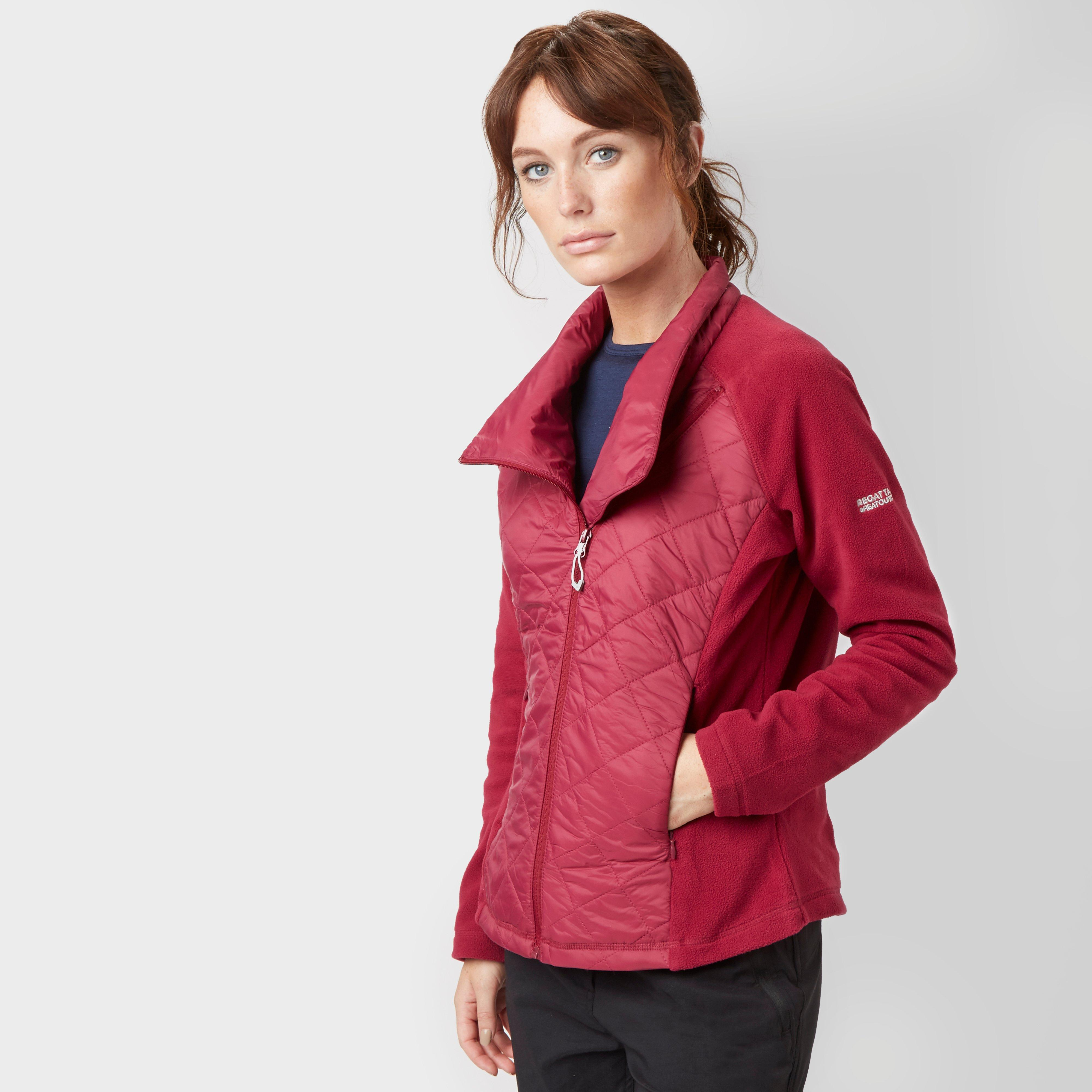 Regatta Womens Chilton Hybrid Jacket Pink