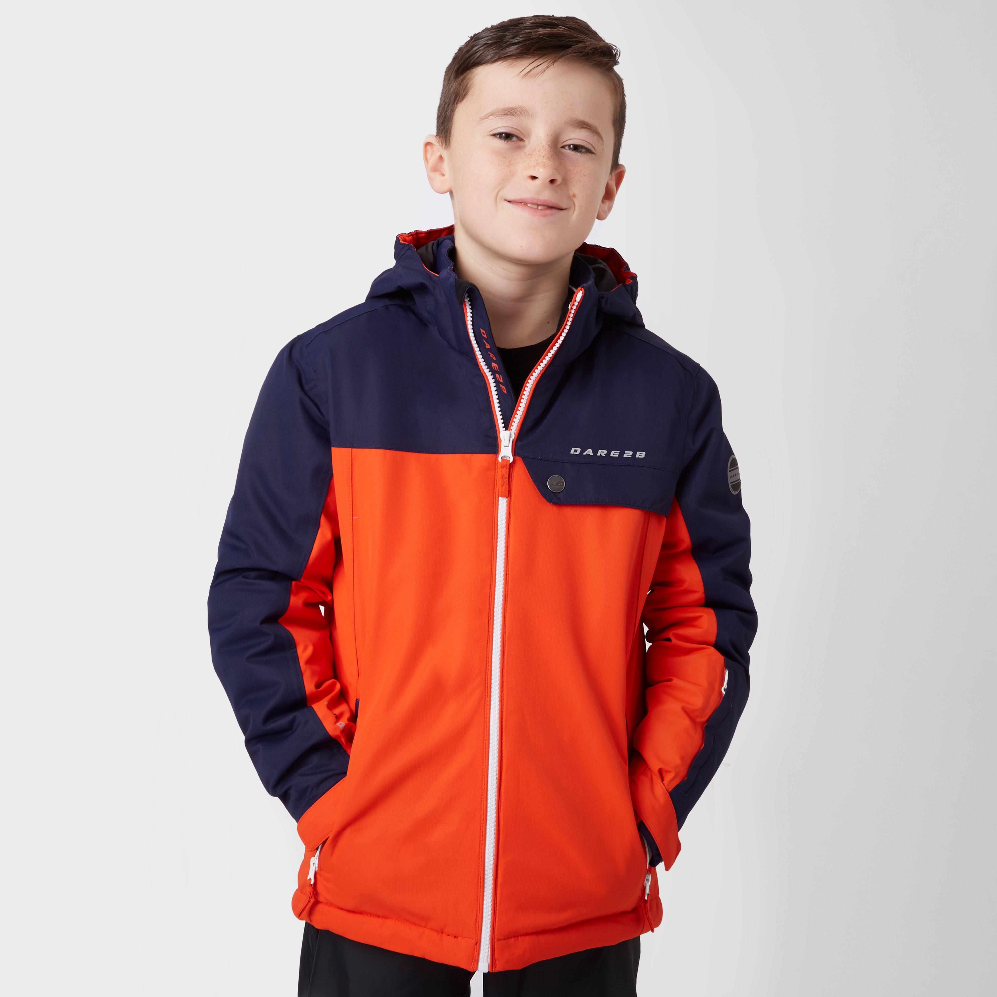 Dare 2B Boys Declared Ski Jacket Orange