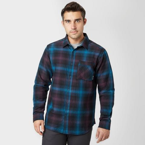 Men's Reversible Plaid Long sleeve shirt