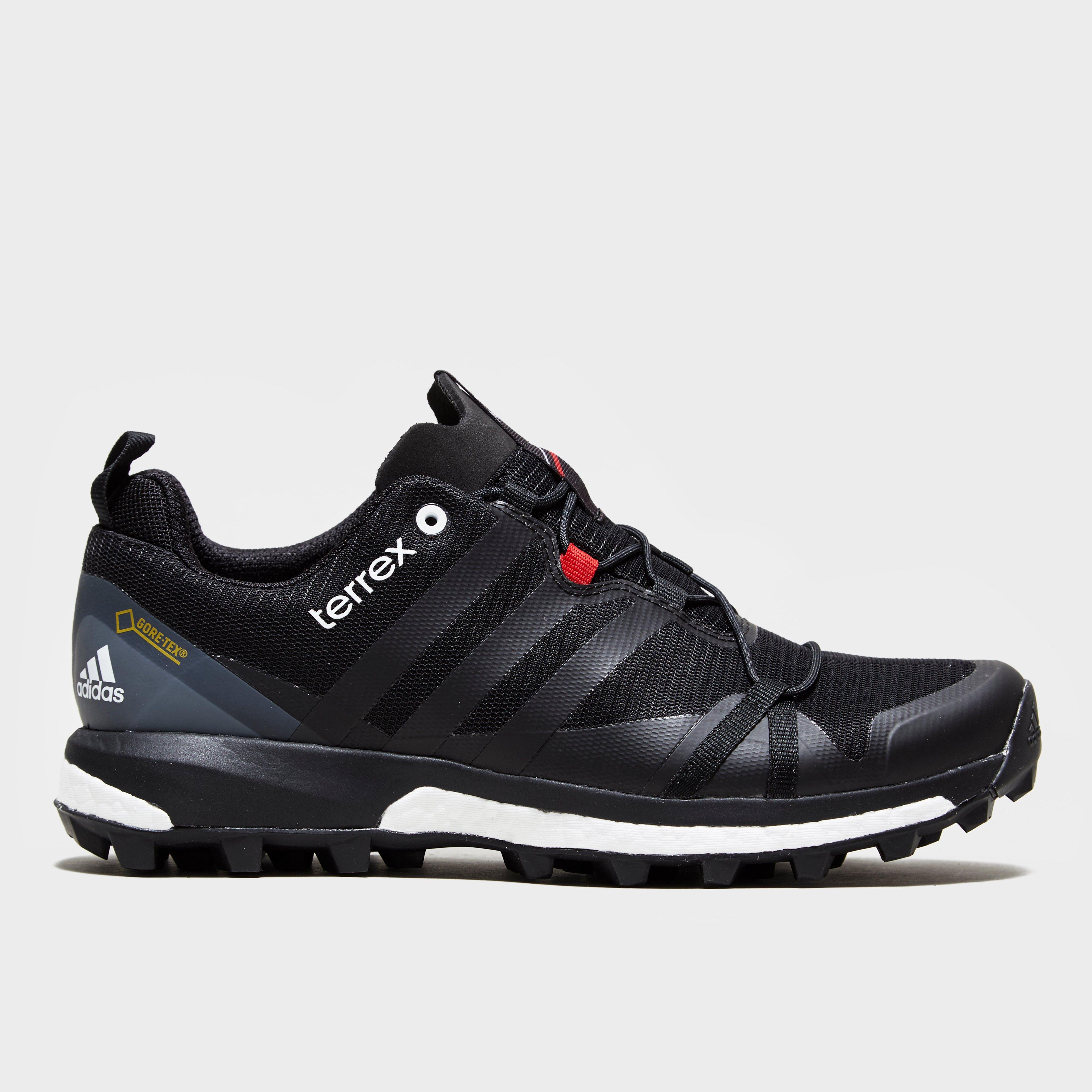Adidas Mens Terrex Agravic Boost GORETEX Shoe Black