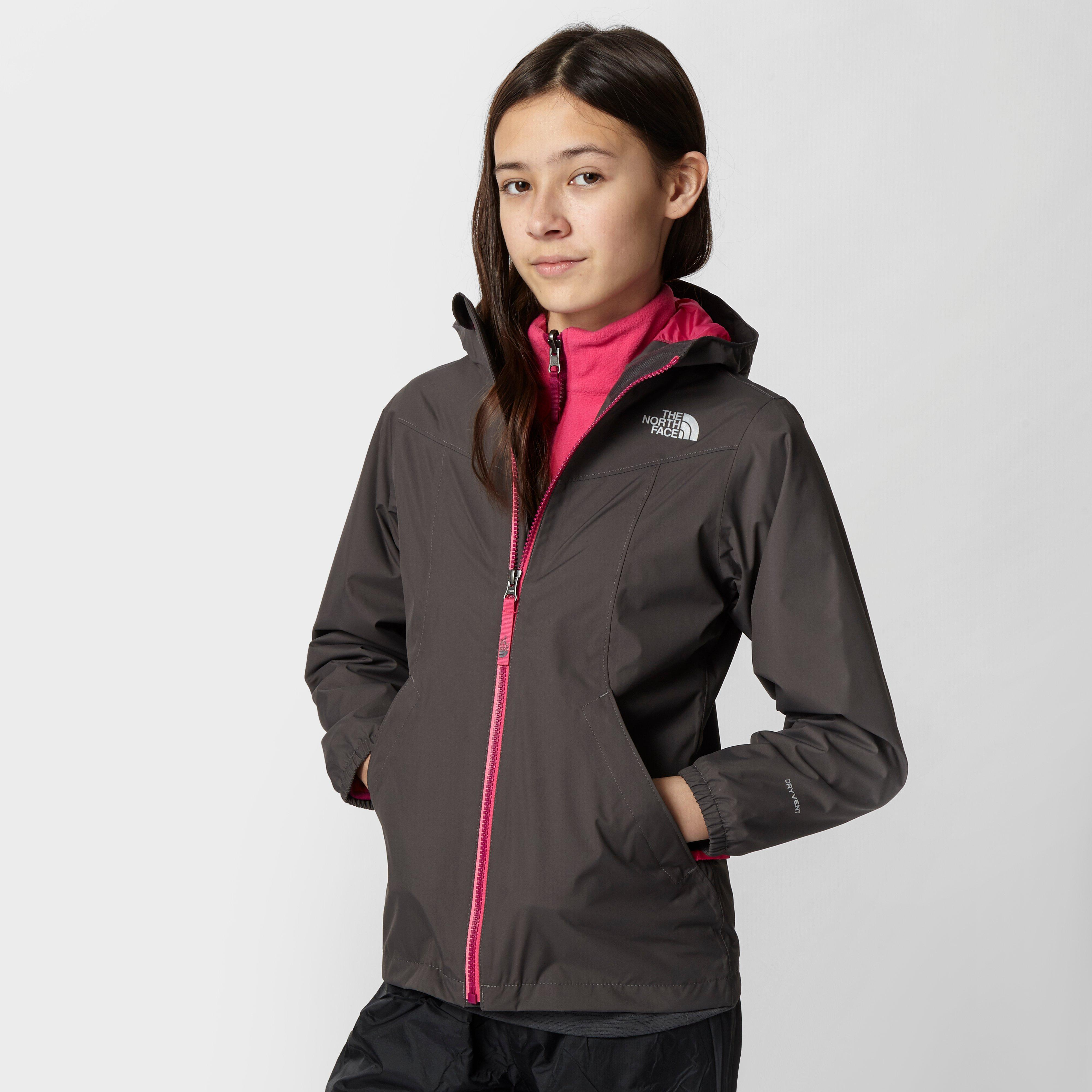 The North Face Girls Eliana Rain Triclimate 3in1 Jacket Grey