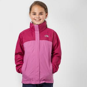 THE NORTH FACE Girl's Reflective Waterproof Jacket