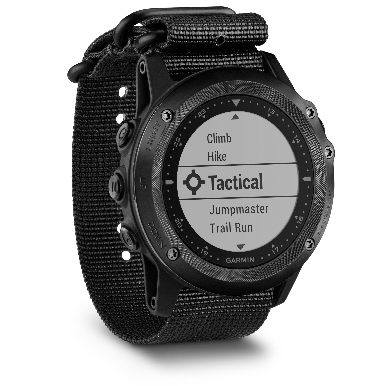 Garmin Tactix Bravo Watch  Black Black