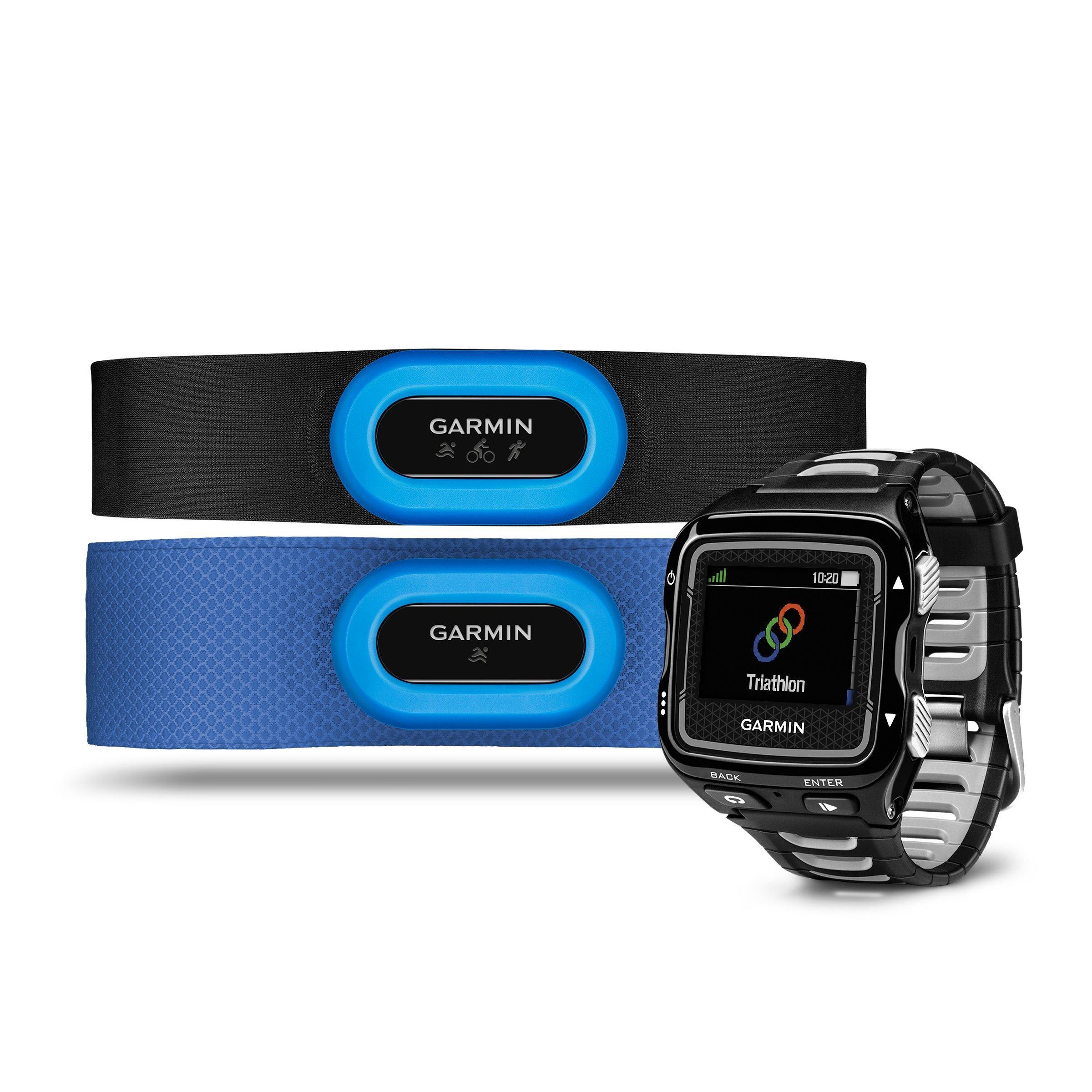 Garmin Forerunner 920 XT MultiSport GPS Watch Bundle  Black Black