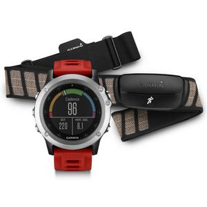 GARMIN fenix® 3 Silver Performance Bundle